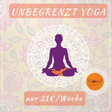 Online Yoga FLATRATE