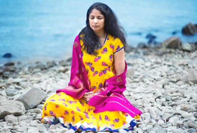 Yoga ist ein Gespräch mit dir selbst. ©