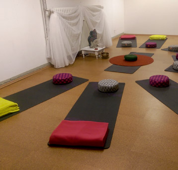The studio Yoganjuly in Bonn